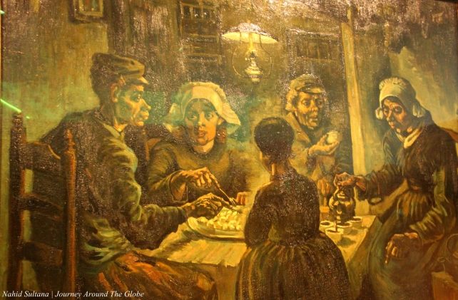 """The Potato Eaters"" by Van Gogh from 1885 in Van Gogh Museum, Amsterdam"