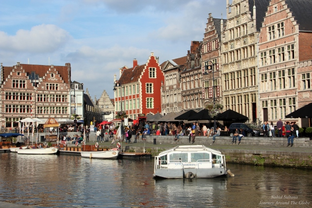 The most charming district of Gent