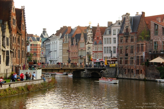 Gent, Belgium - a city full of canals