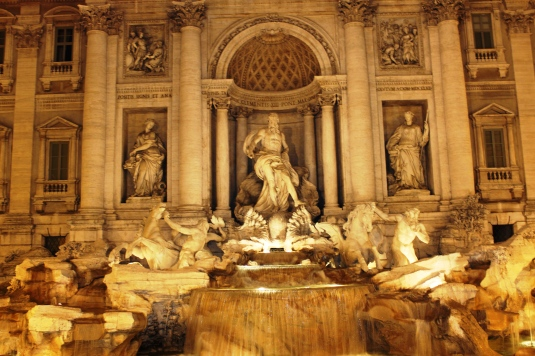 Trevi Fountain - The largest and the most spectacular fountain of Rome