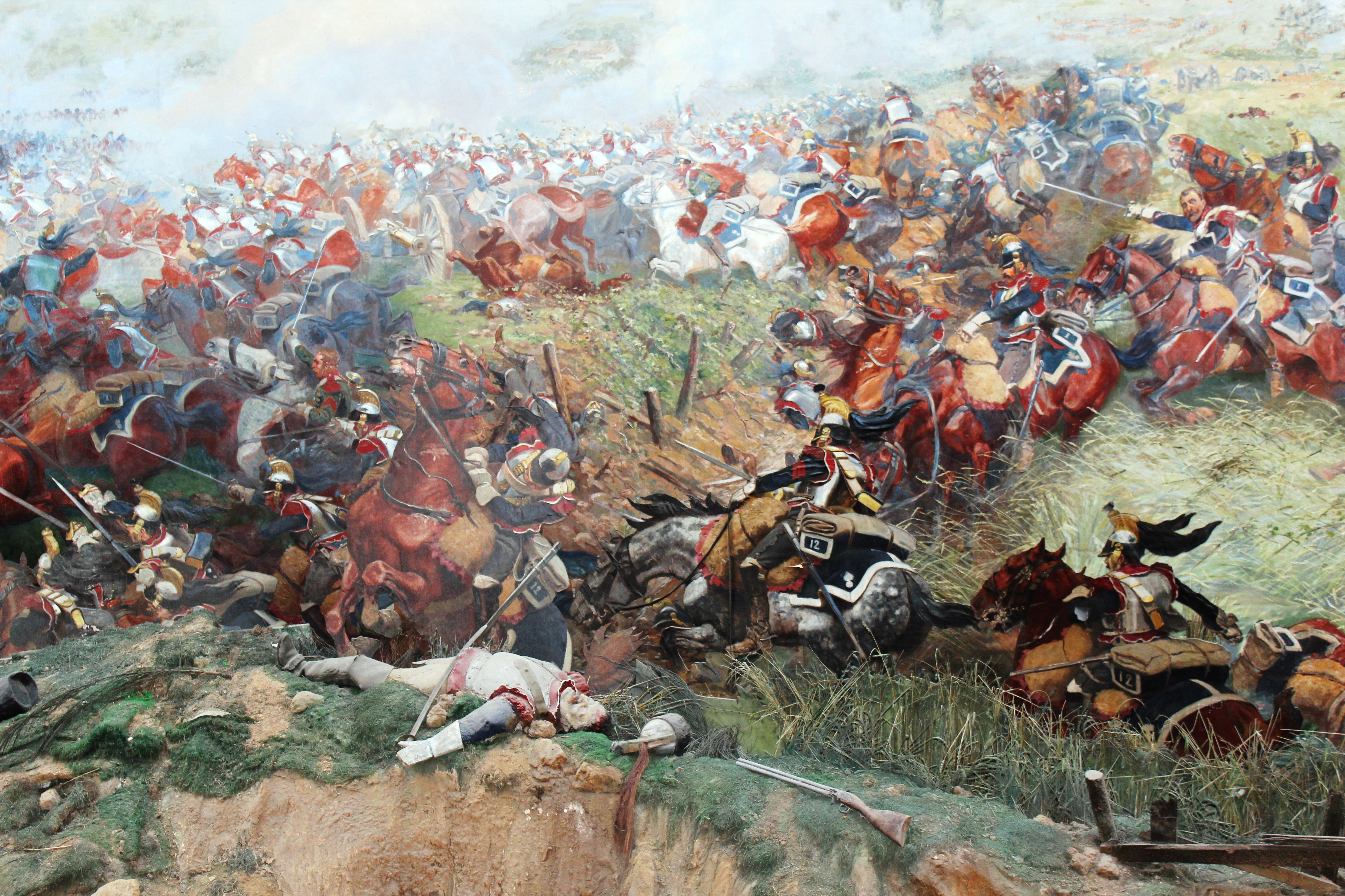 an analysis of the battle of waterloo Battle of waterloo in 1815  analysis of the campaign  the marine corps' warfighting functions as a comparative model,.