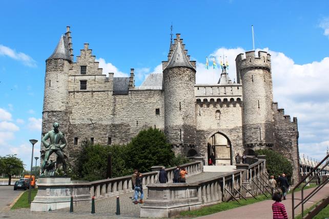 Medieval Castle, Het Steen, in Antwerp