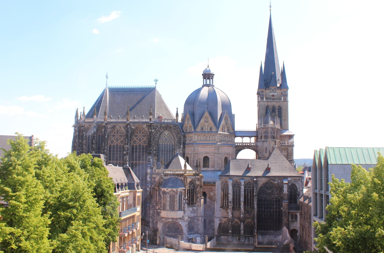 Image result for Aachen Cathedral in Aachen, Germany