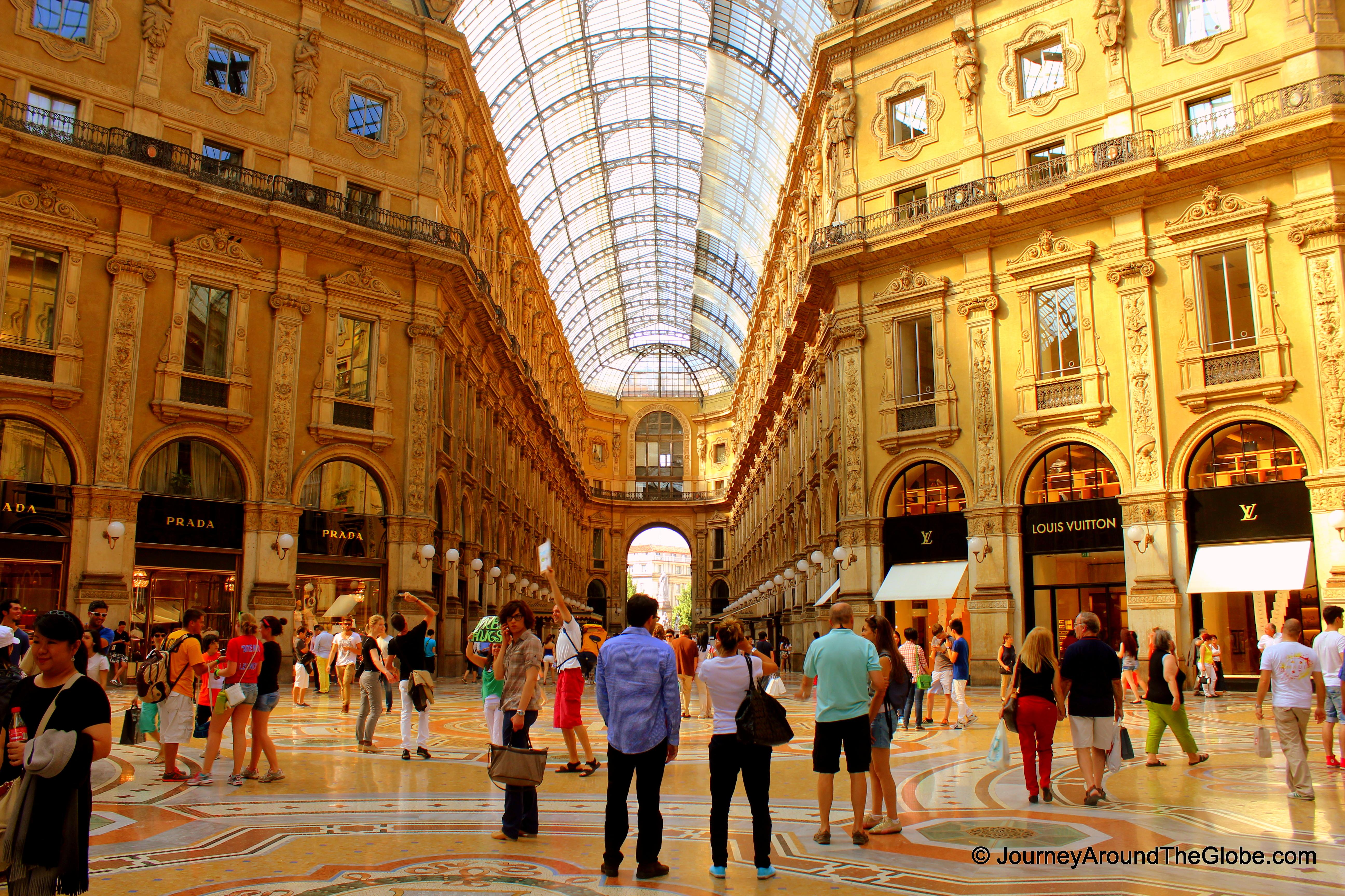 Milan journey around the globe for Milano shop