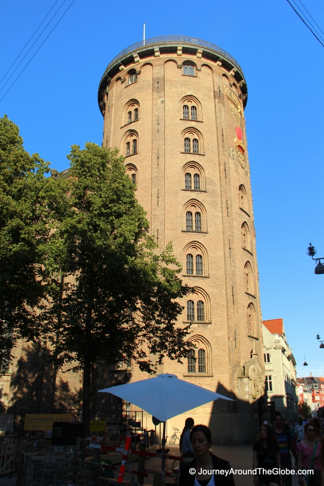 Round Tower, which used to house the original library of Copenhagen Univeristy back in the Middle Age