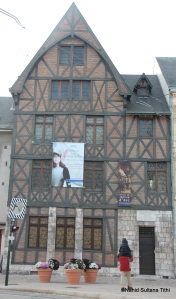 Museum and house of brave Joan of Arc in Orleans, France