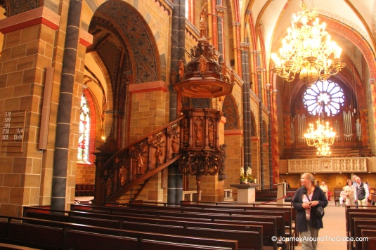 More than 1200 years old Cathedral of St. Peter in Bremen, Germany