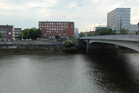 River Weser in Bremen, Germany