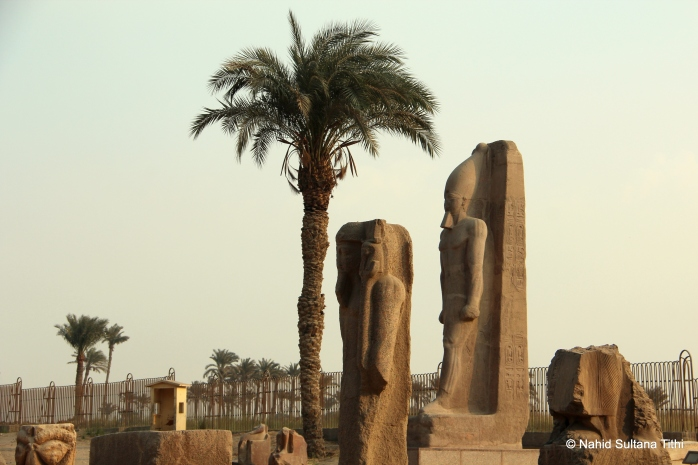 The open-air museum of Memphis - 1st capital of unified Egypt