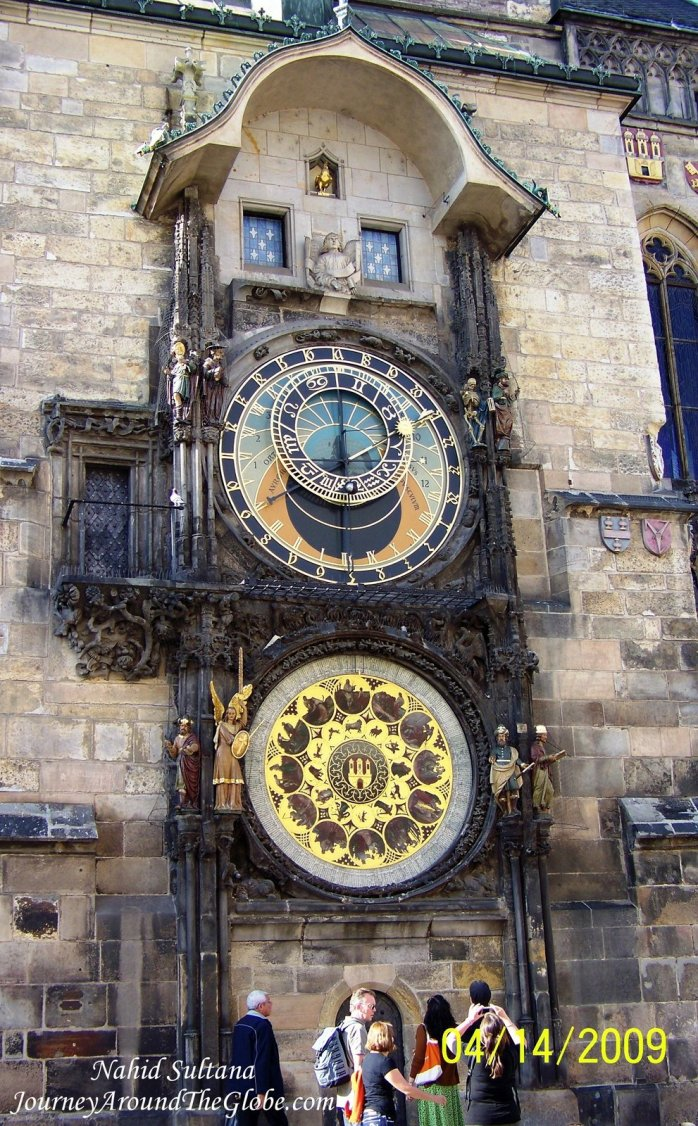 Astronomical Clock in Old Town Prague