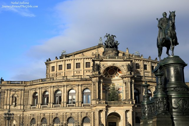 Semper Opera in Dresden - one of the most beautiful opera in the world