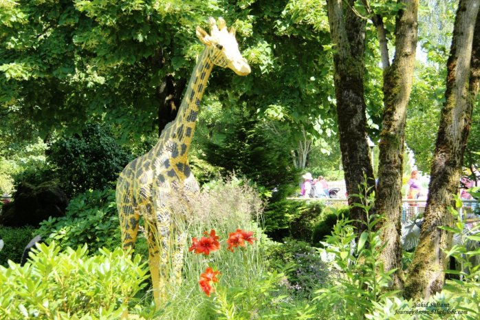 Lego safari park in Legoland Billund, Denmark