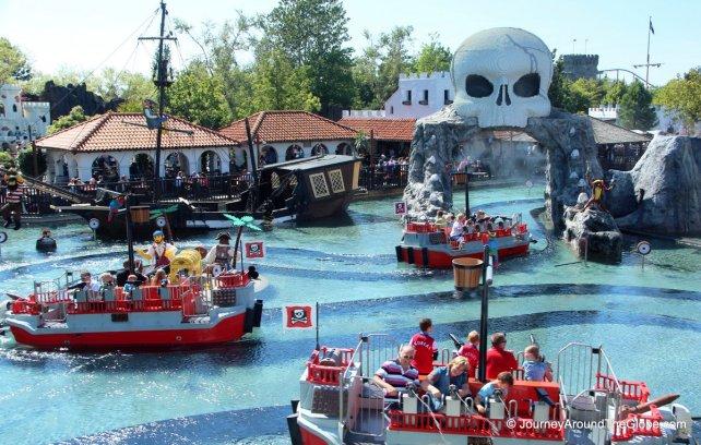 Pirate's Island in Legoland Billund, Denmark