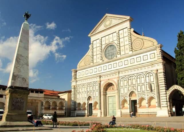 Basilica Santa Maria Novello in Florence, Italy