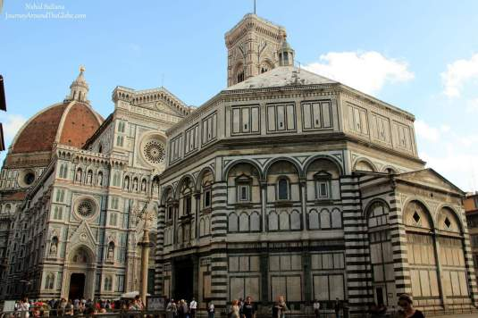 Magnificent edifice of Florence Duomo in Florence, Italy