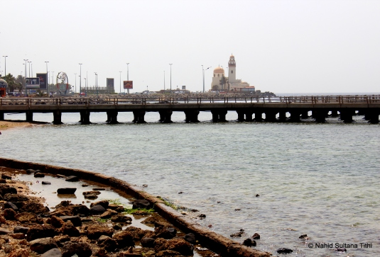 Doha Corniche and spectacular Red Sea in Jeddah