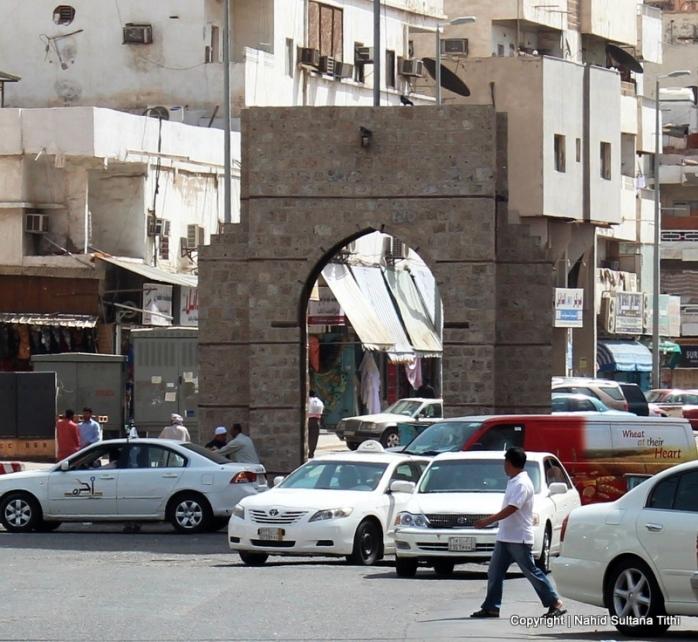 Bab-al-Makkah in Al-Balad, Jeddah