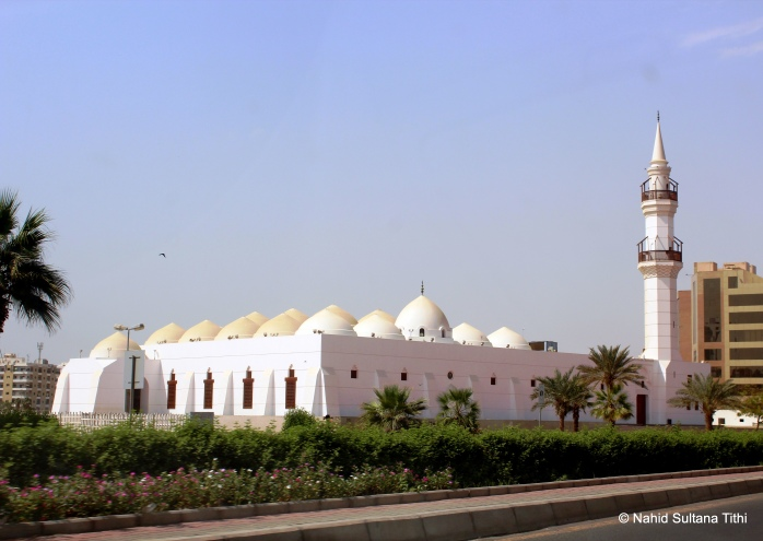 One of the central mosque in downtown Jeddah (can't remember the name) where criminal are punished according to Islamic laws/shari'ah in front of general public every Friday after mid-day prayer