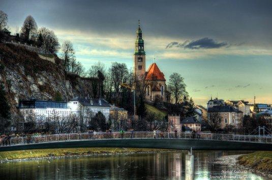 One of my favorite European cities - Salzburg in Austria