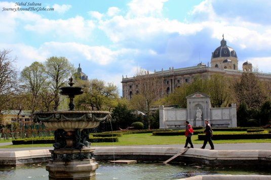 Volks Garden in Vienna, Austria