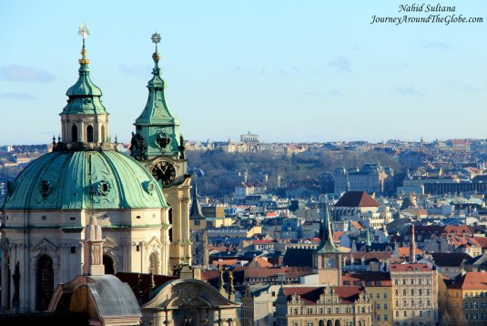 A view you should not miss from Prague Castle