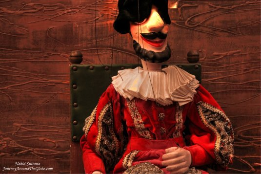 "Mozart's ""Don Giovanni"" marionette show in Prague"
