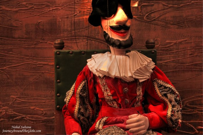 "Mozart's ""Don Giovanni"" marionette show in Prague"