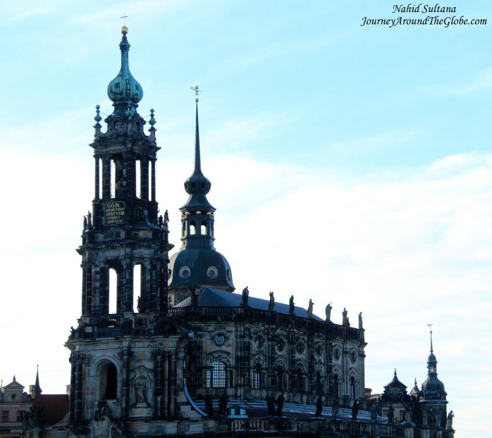 Hofkirche or Dresden Cathedral