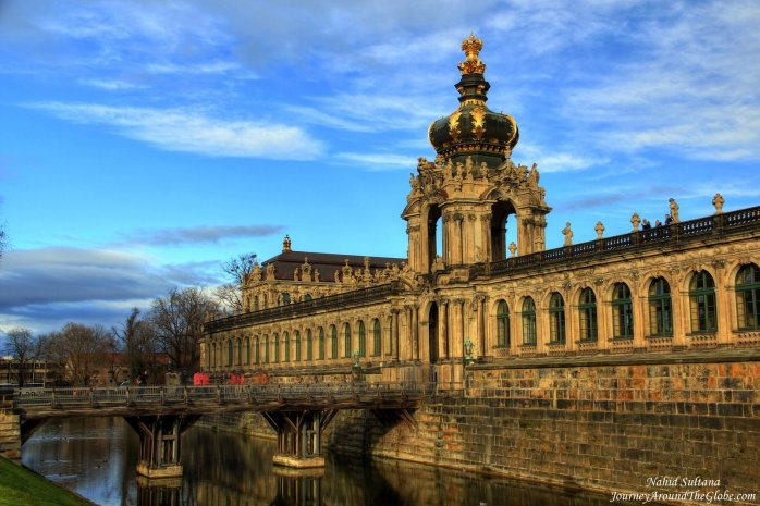 Golden Gate of Dresden Zwinger