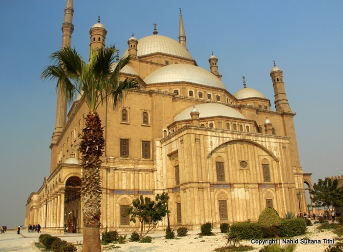 Ali Pasha Mosque in Cairo, Egypt - an iconic landmark of Cairo