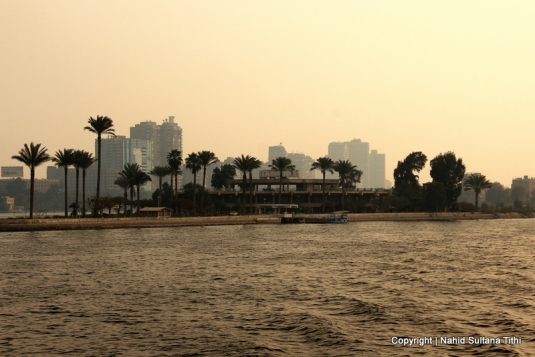 River Nile and Cairo city...what a great combination