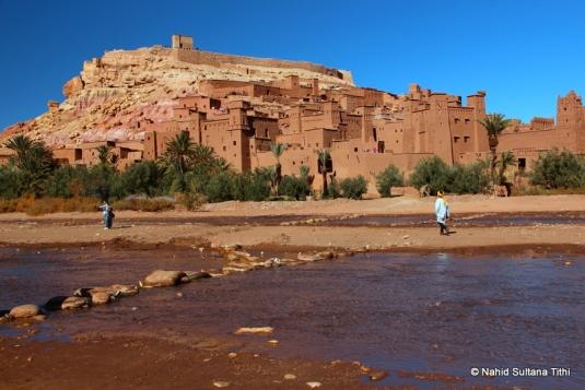 Ait Ben Haddou, a Berbere Kasbah near Ouarzazate in Morocco