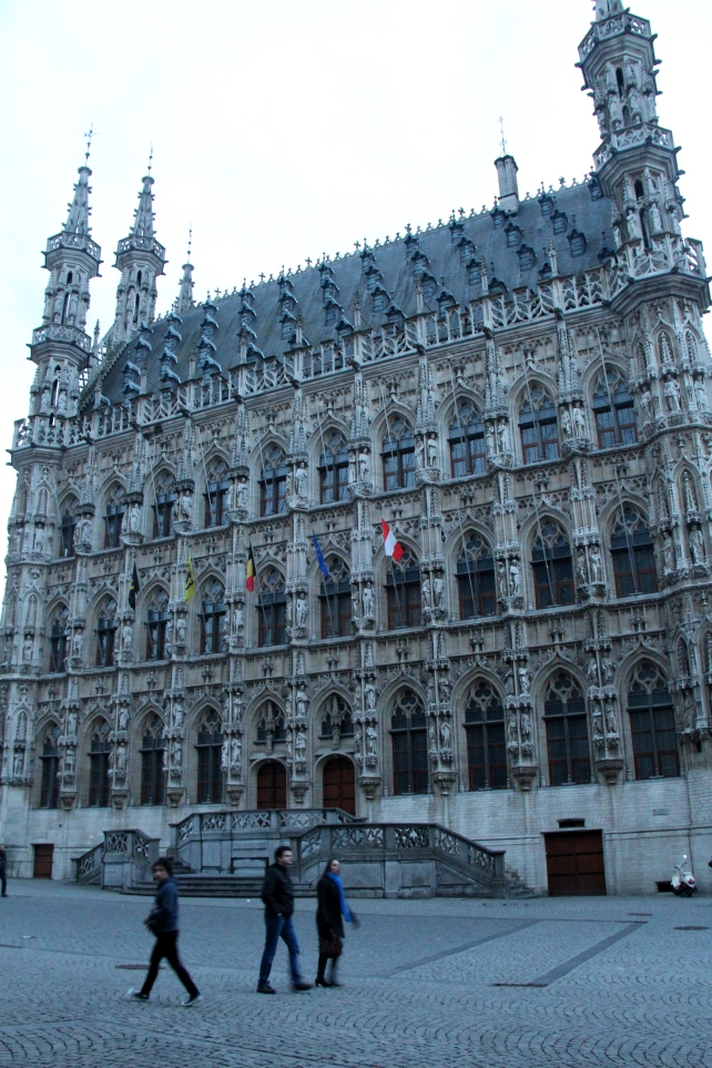 Leuven Town Hall (Stadhuis) in Grote Markt, heart of the city