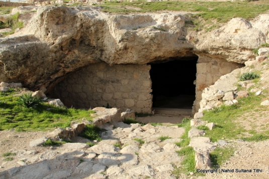 An Early Bronge Age cave in Citadel, Amman, Jordan