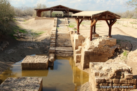 """Bethany Beyond the Jordan"" - The holy site where Jesus was Baptized by John the Baptist in Bethany, Jordan"