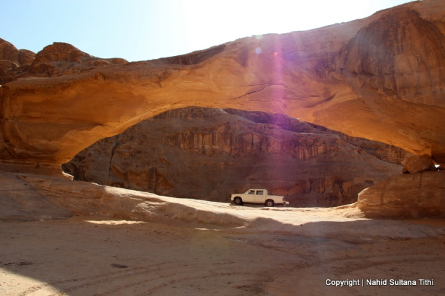 Another natural bridge of Wadi Rum