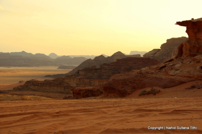 Best sunset I have ever seen in my life was in Wadi Rum, Jordan