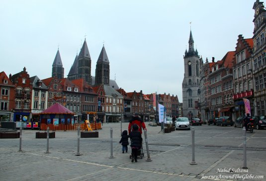 Grand Place of Tournai, Belgium