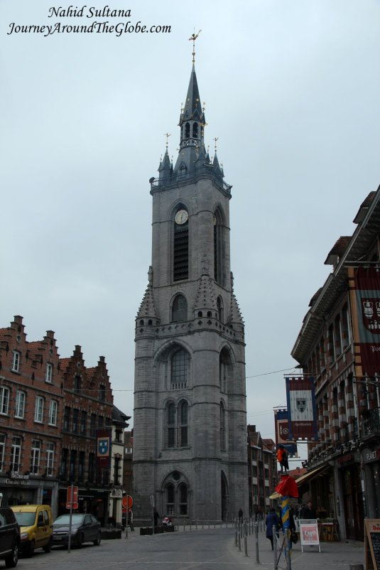 Tournai Belfry (Bell Tower) from the 12th century