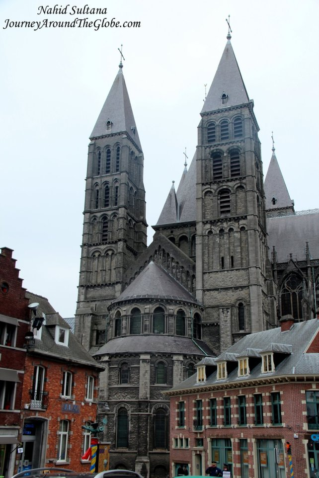 The Cathedral of Notre Dame de Tournai