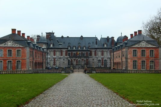 Le Chateau de Beloeil in Belgium