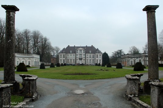 Chateau d'Attre in Wallonia, the French-speaking region of Belgium