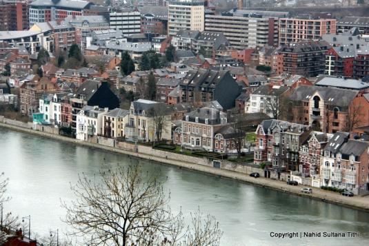 Namur, Belgium - a view from the citadel