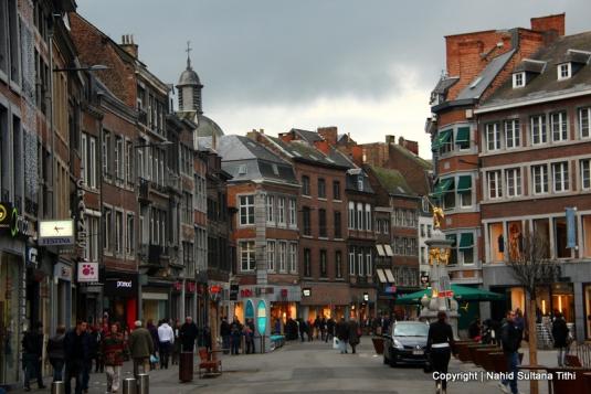 Place de I'Ange in Namur, Belgium