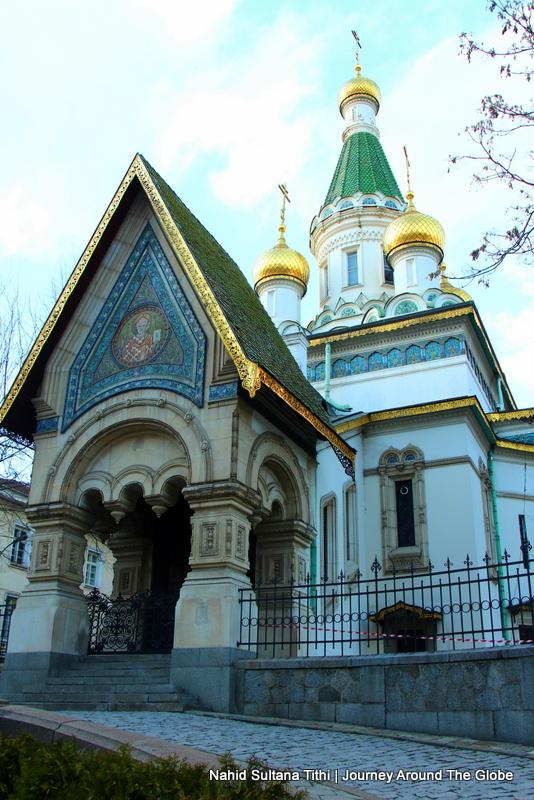St. Michael Russian Church in Sofia, Bulgaria