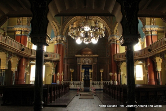 Inside Sofia Synagogue in Bulgaria