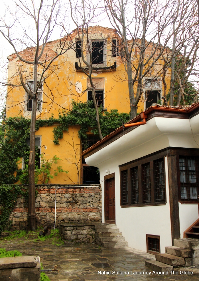 Old buildings of Plovdiv, Bulgaria