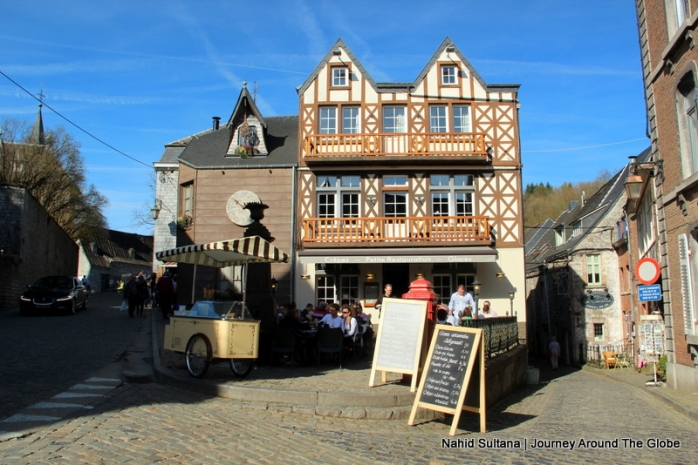 Charming restaurant in Durbuy, Belgium