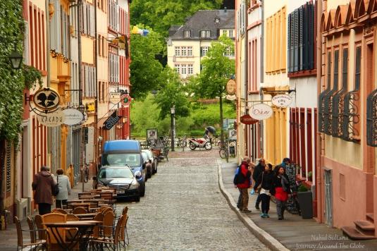 Old town of Heidelberg, Germany