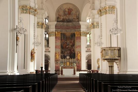 Jesuitenkirche in Heidelberg, Germany
